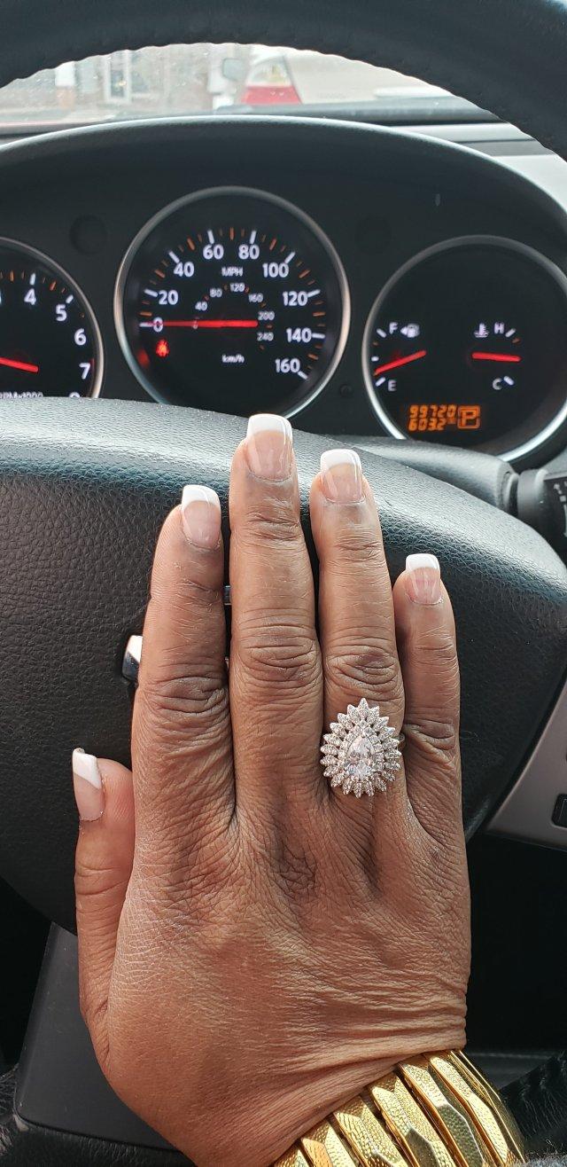 Powder dip nails
