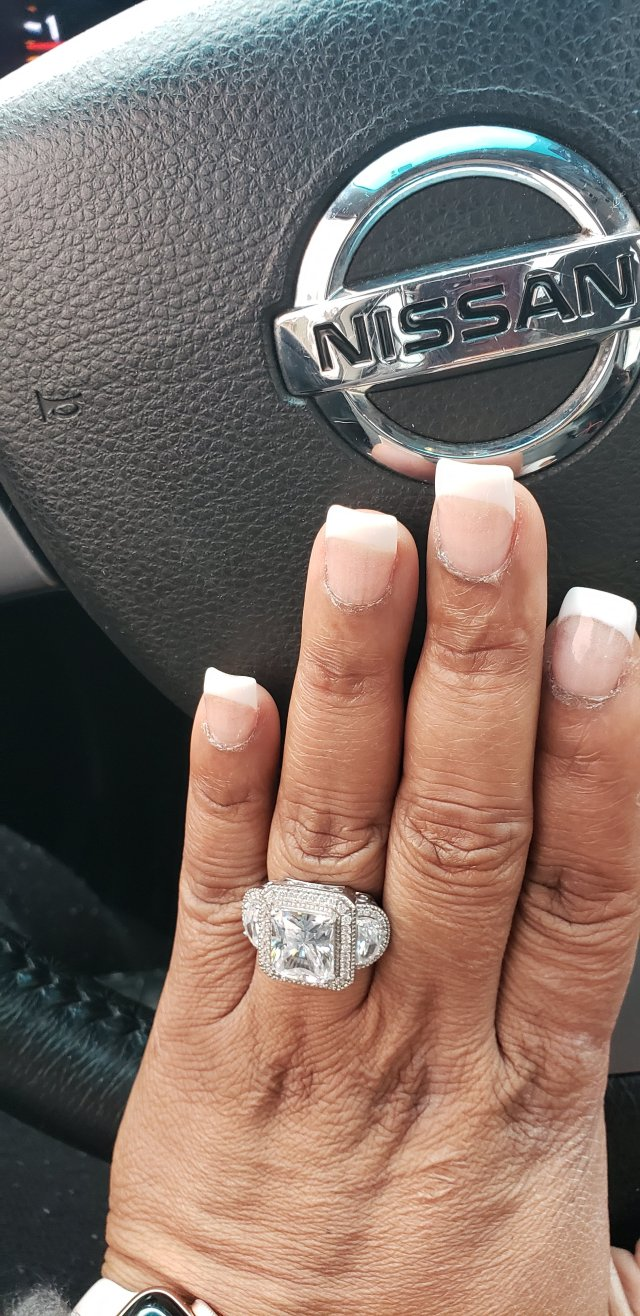My own nails powder dip french