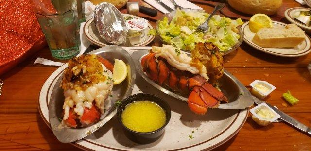 Chowder pot stuff lobster